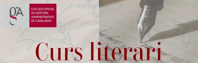 """Curs literari """"Perdre la por a escriure"""""""