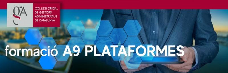 Treu tot el profit a les plataformes A9: Formacions online